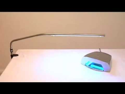 Daylight slimline table lamp demo video youtube aloadofball Choice Image