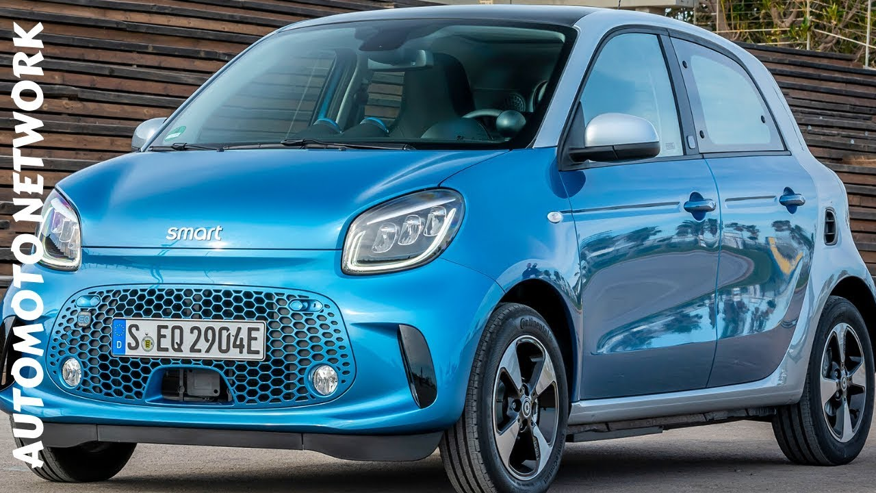 2020 smart forfour facelift Test & Review. - YouTube