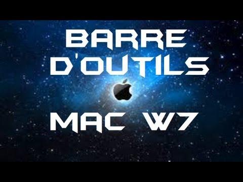 barre doutil mac pour windows