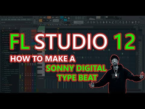 How to Make a Sonny Digital Type Beat | FL Studio 12