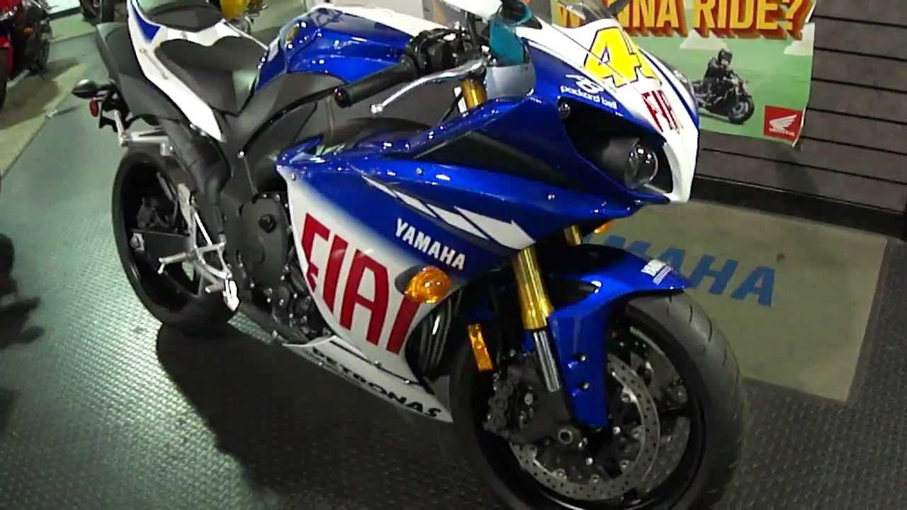 2010 Yamaha YZF R1 LE Fiat. - YouTube