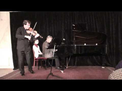 J.Brahms, Violin Sonata No.1, Op.78, Adagio