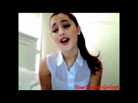 Ariana Grande rapping ''I get crazy'' by Nicki Minaj ♥ [FULL]