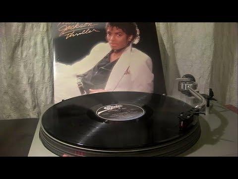 Michael Jackson - Thriller (Full Album - LP Vinyl)