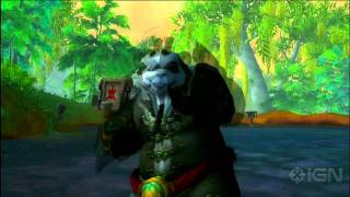 World of Warcraft - Mists of Pandaria Mönch Kampf