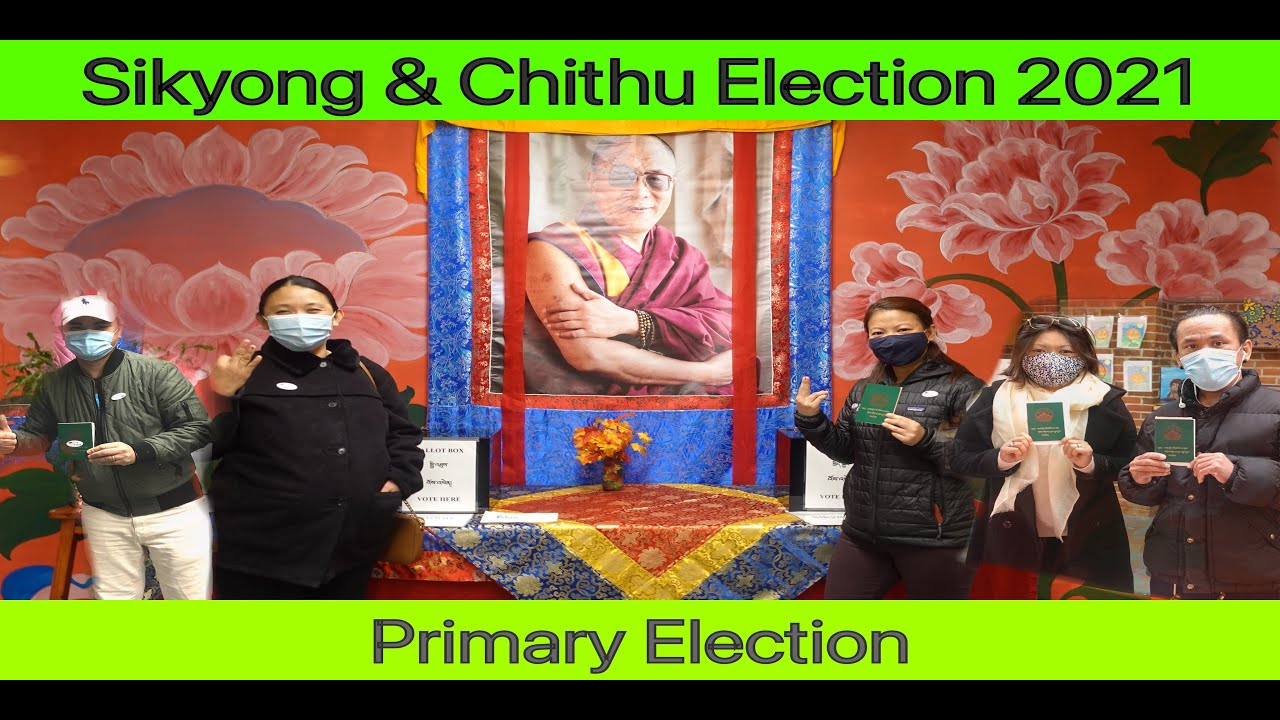 Sikyong and Chithu Election 2021 || Voting from Vermont - USA || Tibetan vlogger