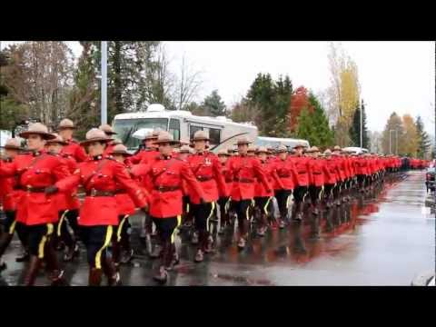 Full Funeral Procession for Surrey RCMP Cst. Adrian Oliver