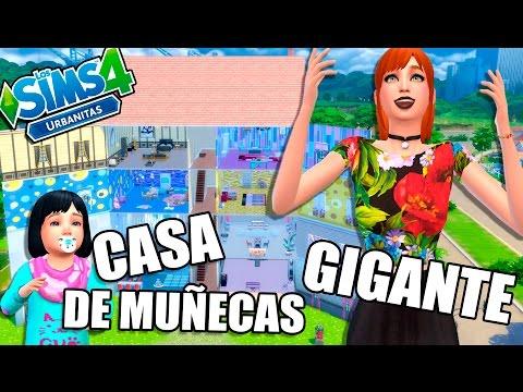 JUGAMOS en la CASA DE MUÑECAS GIGANTE! | Ep.34 | LOS SIMS 4