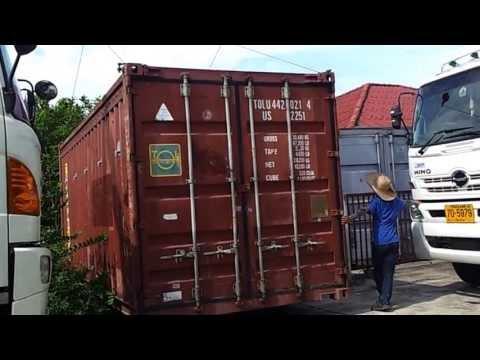รถเฮี๊ยบเชียงใหม่ รถสิบล้อติดเครนเช่า ยกตู้คอนเทนเนอร์086-9024138