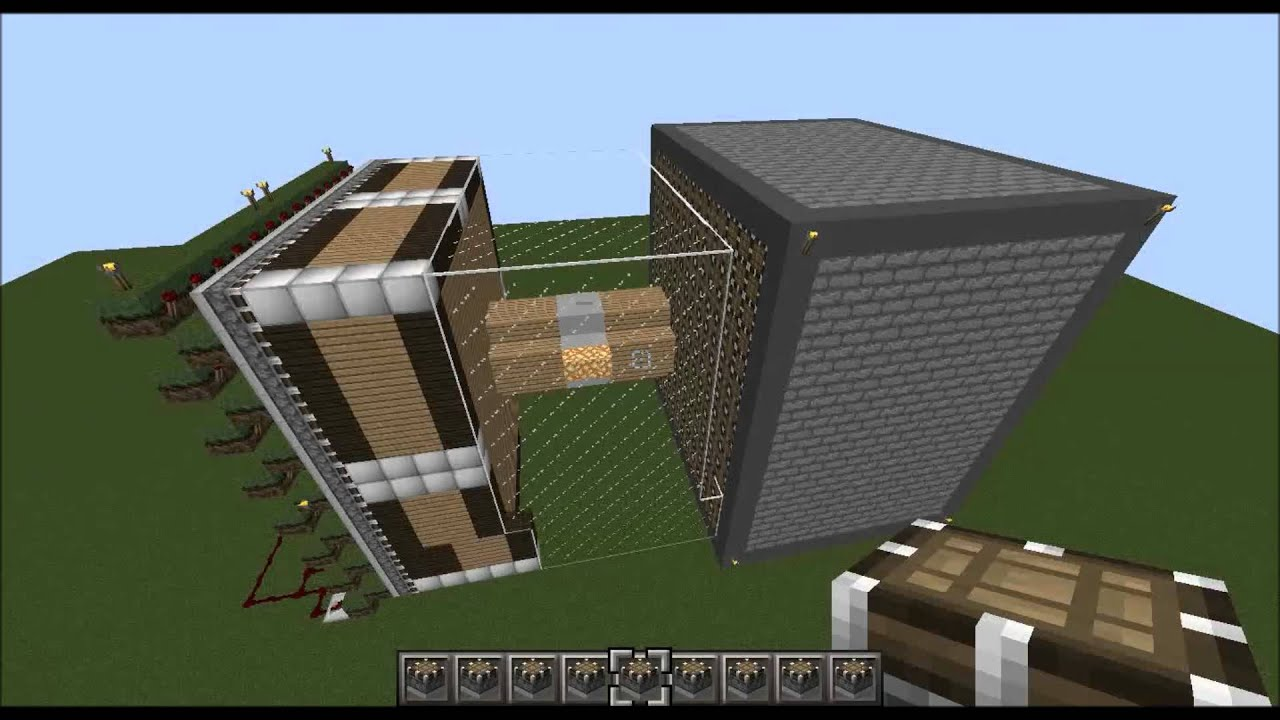 how to build piston in minecraft