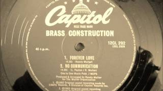Brass Construction - No Communication