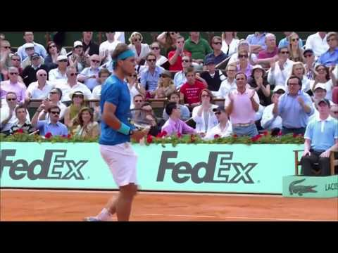 French Open 2011 Final - Rafael Nadal vs Roger Federer