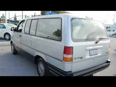 pre owned 1994 ford aerostar san jose ca 95129 youtube