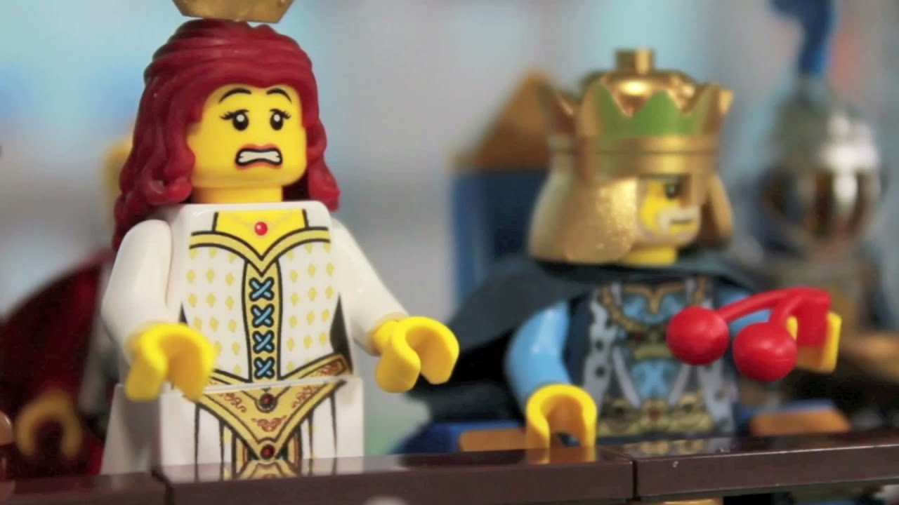 LEGO The White Knight Arrives Stop Motion Animation