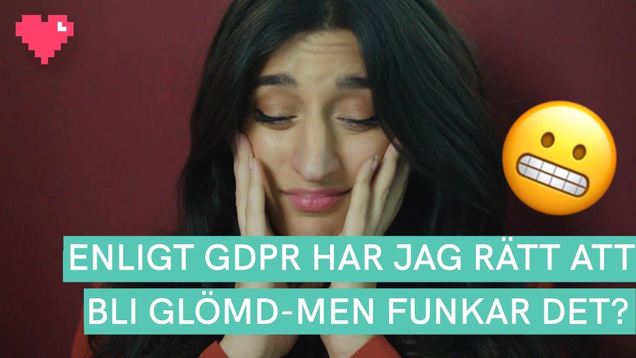 GDPR ger mig rätt att bli glömd - men funkar det?   Spårad: integritet på nätet med Parisa Amiri