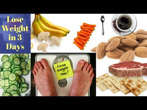 Lose Weight In 3 Days Military, AHA 3 Day Diet Plan