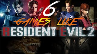 6 Games Like Resident Evil You Need To Play Whilst Waiting For The Nemesis Remake