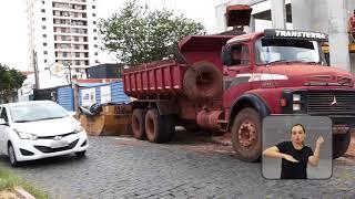 Vereadores em Ação - Porsani - Calçamento na Rua Padre Duarte (Rua 4)