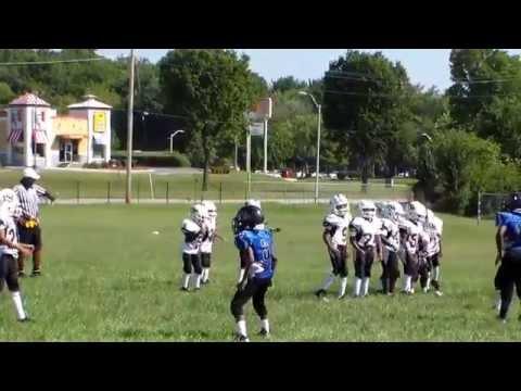 Parkside Warriors 7-9 Coach Nelson VS Eastside Colts Game 2 2of 2 2012 Season