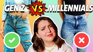 GEN Z vs. MILLENNIALS - Der sinnlose Kampf um Schönheitsideale