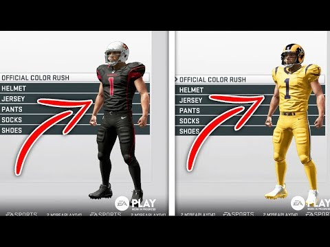 Madden 19 First Look at All NFL Teams Uniforms and Alternative Uniforms