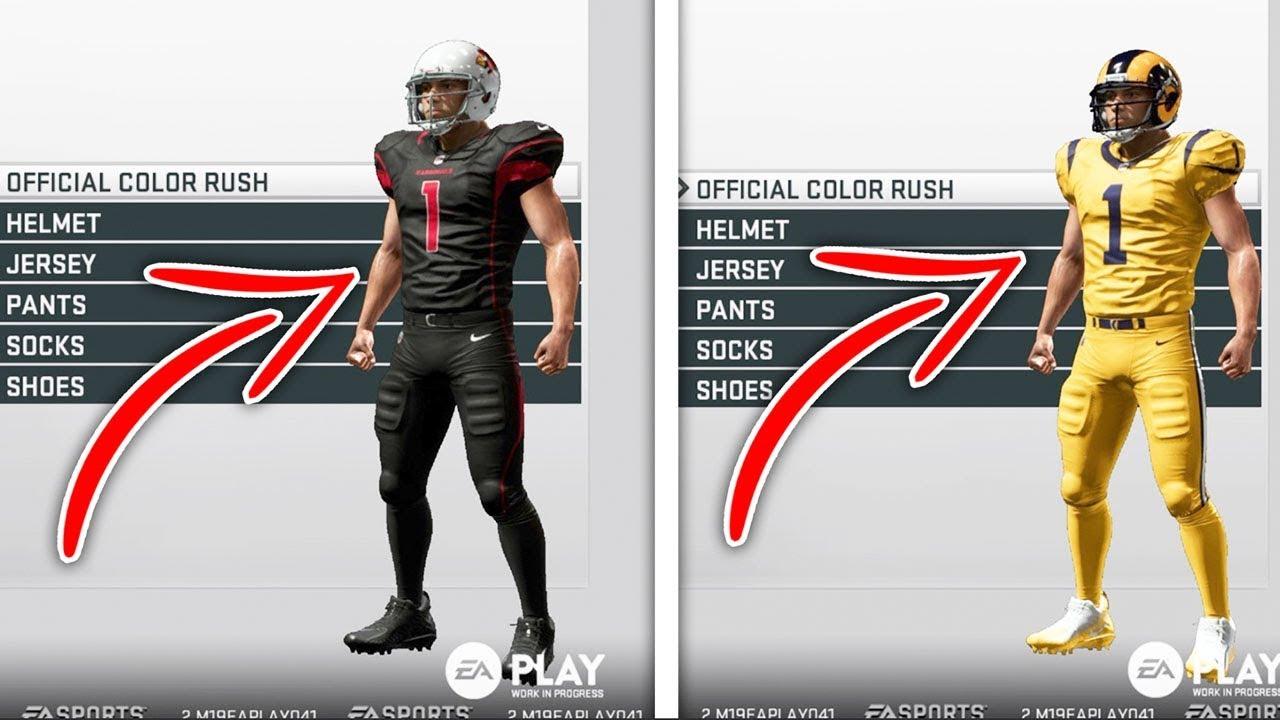 Madden NFL 19 Video - All NFL Team Uniforms and Alternates