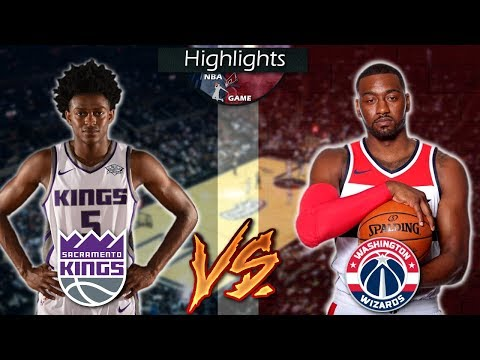 Sacramento Kings vs Washington Wizards - Full Game Highlights 11-13-2017