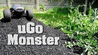 uGo Monster - test, recenzja zdalnie sterowanego samochodu RC 2WD 1:12. Rozpędza się do 45 km/h!