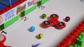 MARBLE RUN vs Fidget Spinner - Collision - Marble Elimination Tourn...