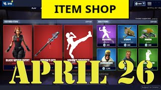 NEW Fortnite Item Shop April 26 - 8.50 Gameplay - Inferno Skin out now 4th Rune Event Possibly soon