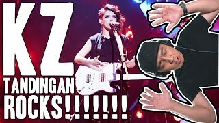 KZ TANDINGAN ROCKS 'REAL GONE' (SINGER 2018) [Reaction] #RCRV