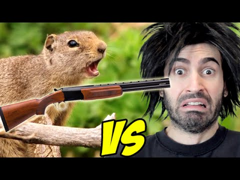 DEFEND MY NUTS vs The World's Worst Gamer!