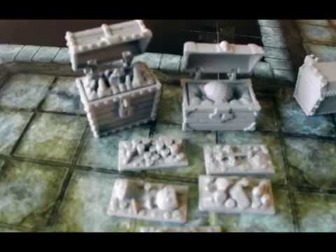 3D Printable RPG Chests (Steampunk, fantasy, sci-fi)