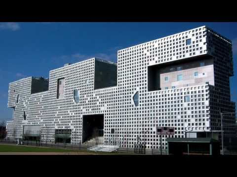 MIT Simmons Hall by Steven Holl