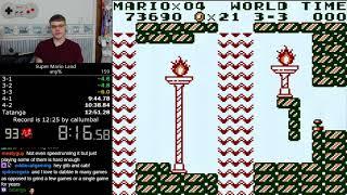 (12:46) Super Mario Land any% speedrun
