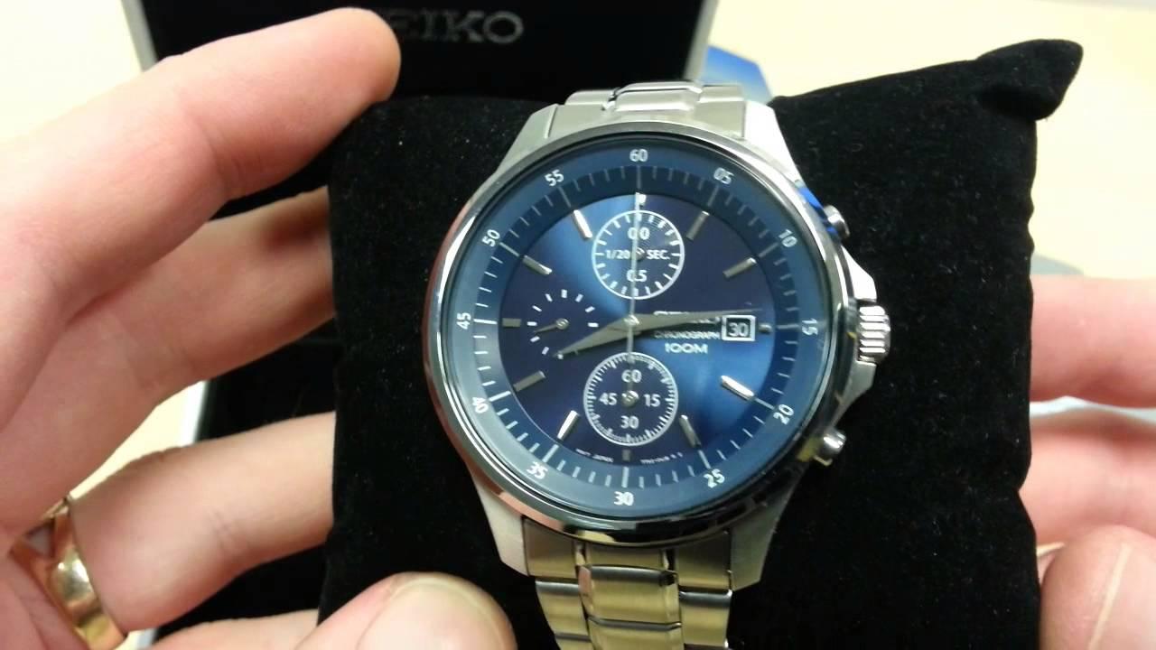 wholesale dealer 5097a de872 Seiko 7T92 Analogue Chronograph Watch - Review