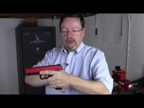 How to reduce muzzle flip on a handgun