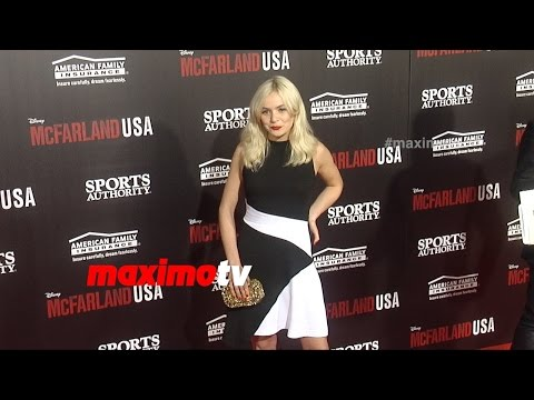 Morgan Saylor | McFarland, USA World Premiere | Red Carpet