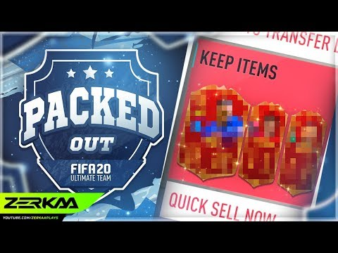 3 RED PLAYER PICKS For The FIRST TIME - ELITE 2 Rewards (Packed Out #94) (FIFA 20 Ultimate Team)