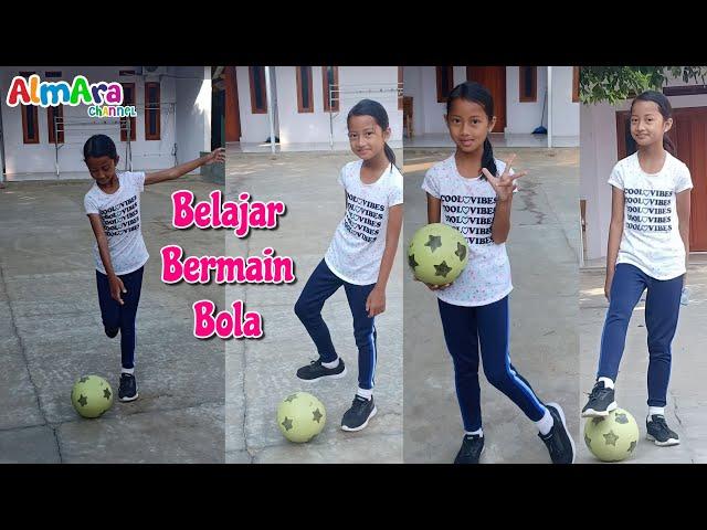 Alma Belajar Bermain Bola ⚽ Tugas Olahraga Anak SD Kelas 5