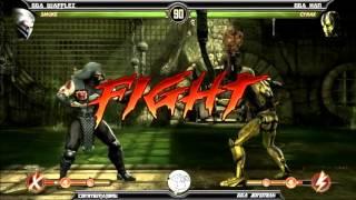 MK9 casuals, GGA Wafflez (Sonya, Smoke, Cage) vs GGA HAN (Cyrax)