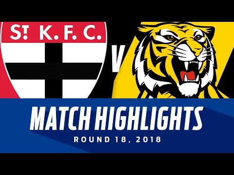 St Kilda v Richmond Highlights | Round 18, 2018 | AFL