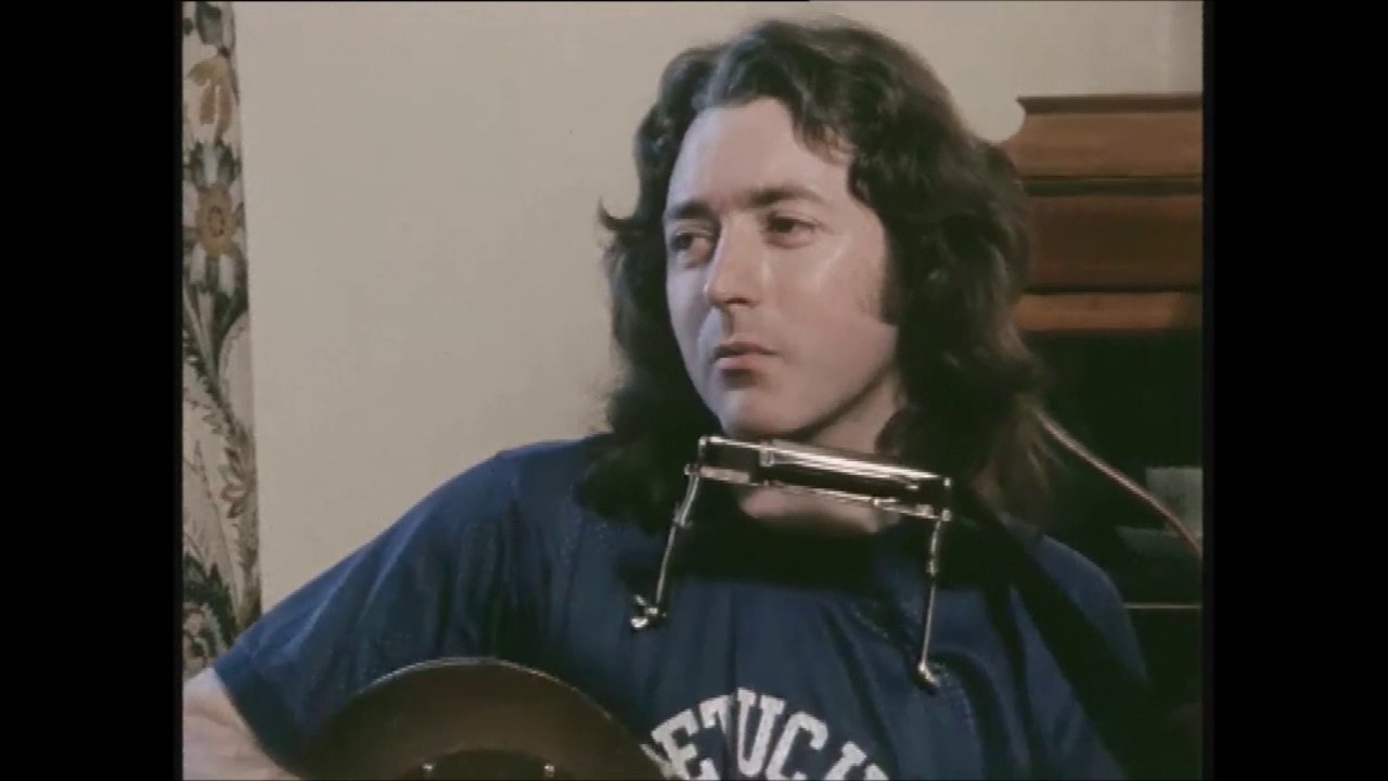 Rory Gallagher Interview, Ireland 1983