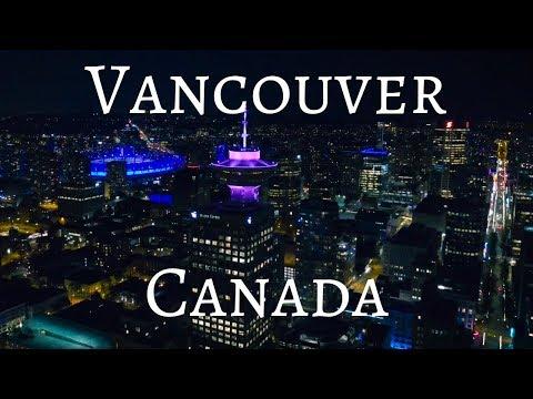 Vancouver Canada Drone Footage 4k