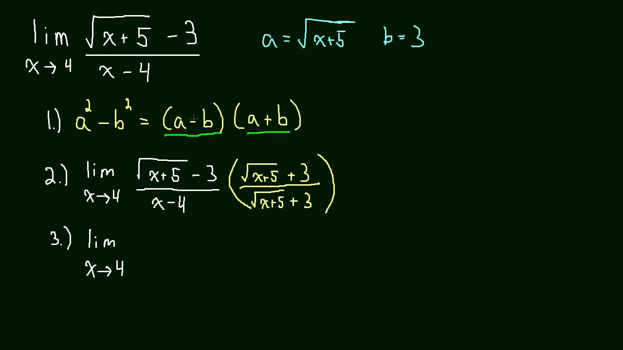 How to solve limits 12