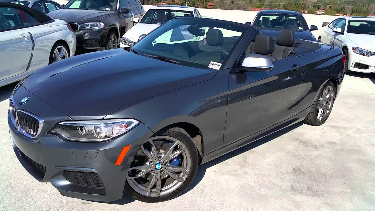 NEW BMW M235i Convertible review & Exhaust Sound / BMW Review - YouTube
