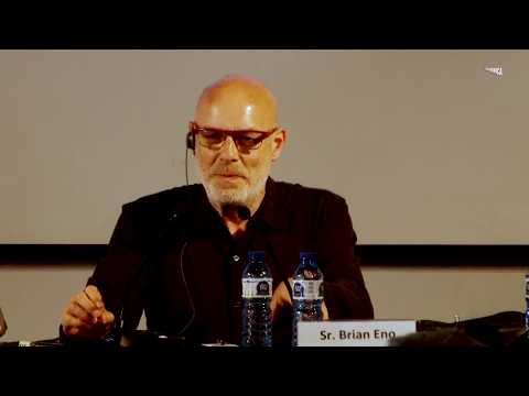 Lightforms / Soundforms · Brian Eno · Roda de premsa · Arts Santa Mònica·
