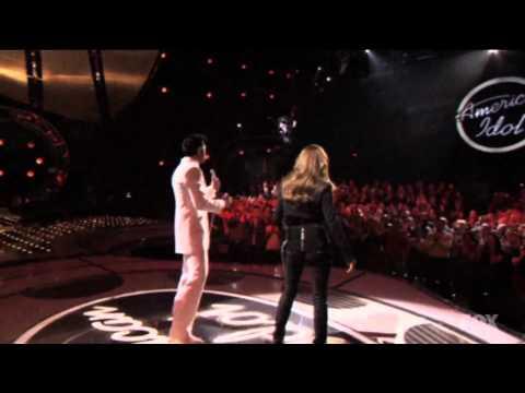 ElvisPresley and Celine Dion American Idol Duet HD