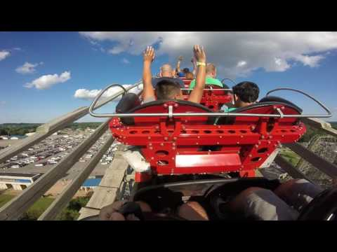 GOPRO Hades 360 Roller Coaster Mt. Olympus Wisconsin Dells