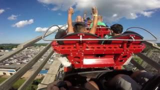 gopro hades 360 roller coaster mt olympus wisconsin dells
